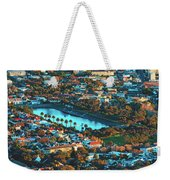 View Of Molteno Reservoir - Cape Town Weekender Tote Bag