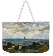 View Of Paris - Digital Remastered Edition Weekender Tote Bag