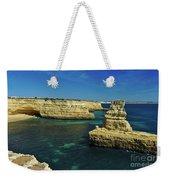 View Of Praia Deserta In Algarve Weekender Tote Bag