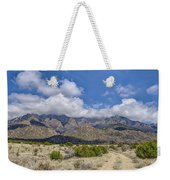 View Of Sandia Mountain Weekender Tote Bag