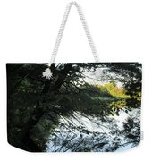 View Of The Lake Through The Branches Weekender Tote Bag