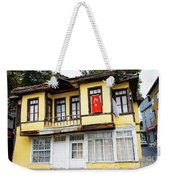 Village Center Structure Two Weekender Tote Bag