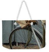 Vintage Bicycle World War II  Weekender Tote Bag