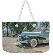 Vintage Car Chevy Fleetmaster Weekender Tote Bag