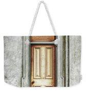 Vintage Door Weekender Tote Bag