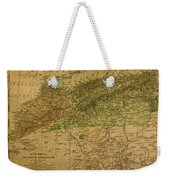 Vintage Map Of North Africa Including Morocco Algeria And Tunisia 1901 Weekender Tote Bag