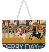 Vintage Poster - Derby Day Weekender Tote Bag