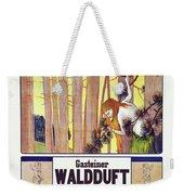 Vintage Poster - Gasteiner Waldduft Weekender Tote Bag