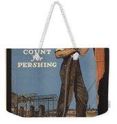 Vintage Poster - Make Every Minute Count Weekender Tote Bag