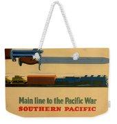 Vintage Poster - Southern Pacific Weekender Tote Bag