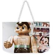 Vintage Robot Astro Boy Weekender Tote Bag
