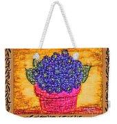 Violets Are  Blue  Weekender Tote Bag