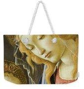 Virgin And Child Renaissance Catholic Art Weekender Tote Bag