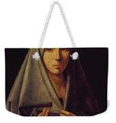 Virgin Annunciate By Messina Weekender Tote Bag