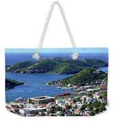 Virgin Island View Weekender Tote Bag