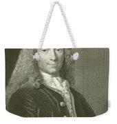 Voltaire Portrait, Engraving Weekender Tote Bag