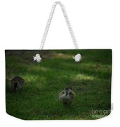 Waddling Ducklings Weekender Tote Bag