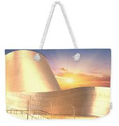 Wall Disney Concert Hall At Sunset Weekender Tote Bag