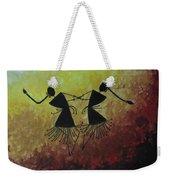 Warli Painting Weekender Tote Bag