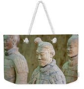 Warriors In Pit 1, Xi'an, China Weekender Tote Bag