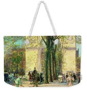Washington Arch, Spring - Digital Remastered Edition Weekender Tote Bag