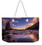 Washington Coast Sunset Sands Weekender Tote Bag