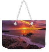 Washington Coast Sunset Serene Evening Weekender Tote Bag