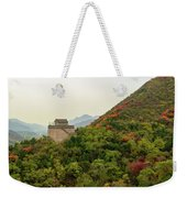Watch Tower, Great Wall Of China Weekender Tote Bag
