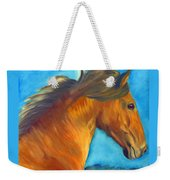 Watching The Morning Breeze Weekender Tote Bag