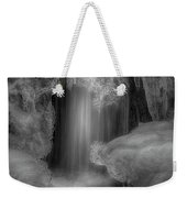 Water And Ice 9 Weekender Tote Bag