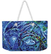 Water Circles Weekender Tote Bag