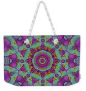 Water Garden Lotus Blossoms In Sacred Style Weekender Tote Bag