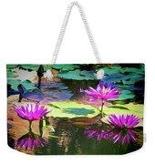 Water Lily 6 Weekender Tote Bag