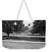 Water Spray Orchard Weekender Tote Bag