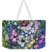 Watercolor - Alpine Wildflower Design Weekender Tote Bag