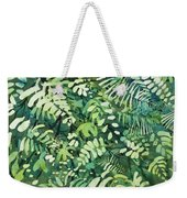 Watercolor - Rainforest Canopy Design Weekender Tote Bag