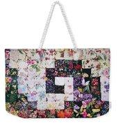 Watercolor Swirl Weekender Tote Bag