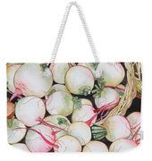Watermelon Radishes And A Teeny Ear Of Corn Weekender Tote Bag