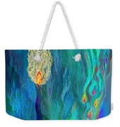 Watery Abstract Xviii - Women And Candles Weekender Tote Bag