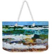 Waves Crash - Painting Version Weekender Tote Bag