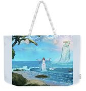 Waves Of Mercy Weekender Tote Bag