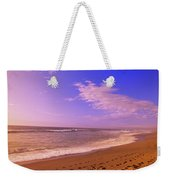 Waves On The Beach, North Beach, Point Weekender Tote Bag