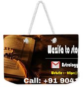 Wazifa To Remove Bad Thoughts  Weekender Tote Bag