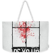 We All Go A Little Mad Weekender Tote Bag