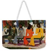 We Shall Not Go To Market Today 1892 Weekender Tote Bag
