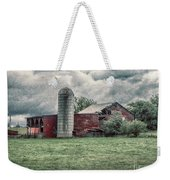 Weathered Worn And Standing Strong Weekender Tote Bag by Judy Hall-Folde