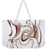 Weeping Woman With Prayer Beads Weekender Tote Bag by Anthony Falbo