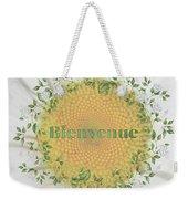 Welcome - Bienvenue Weekender Tote Bag
