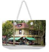 West End Grocery Store Weekender Tote Bag by Juan Contreras