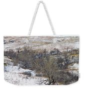 Western Edge Winter Hills Weekender Tote Bag